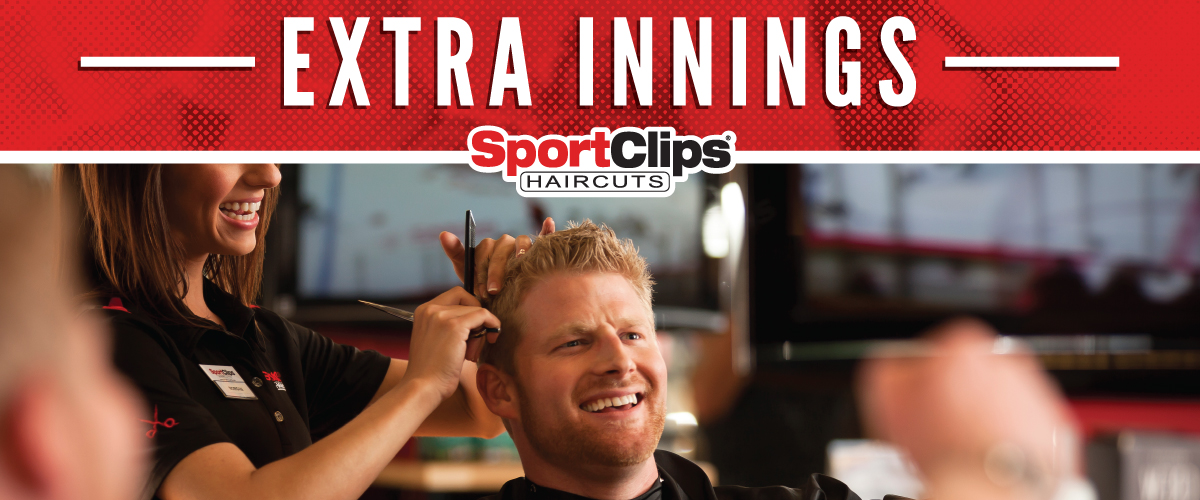 The Sport Clips Haircuts of Sacramento - R Street Market  Extra Innings Offerings